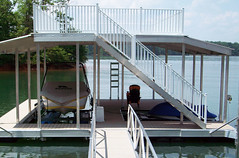 Sundeck Dock with Gables