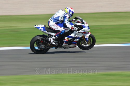 Jake Dixon in World Superbikes at Donington Park, May 2017