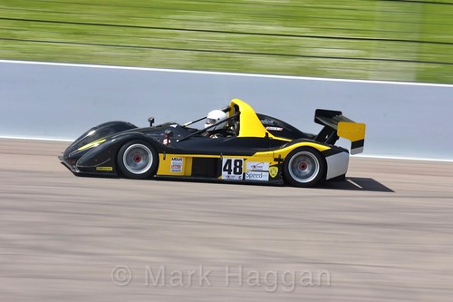 Andy Chittenden in the Excool BRSCC OSS Championship at Rockingham, June 2017