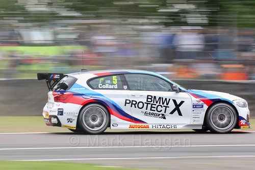 Rob Collard in action at Oulton Park, May 2017