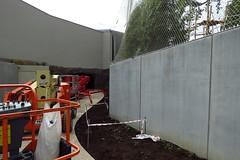 311 - 2017 06 10 - Bezoekerspad richting grot in aanbouw