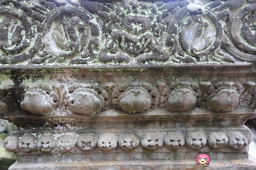 吳哥城,吳哥王朝,吳哥窟,塔普倫寺,塔普倫廟,塔普倫神廟,慶澤旅遊,柬國,柬埔寨 @VIVIYU小世界