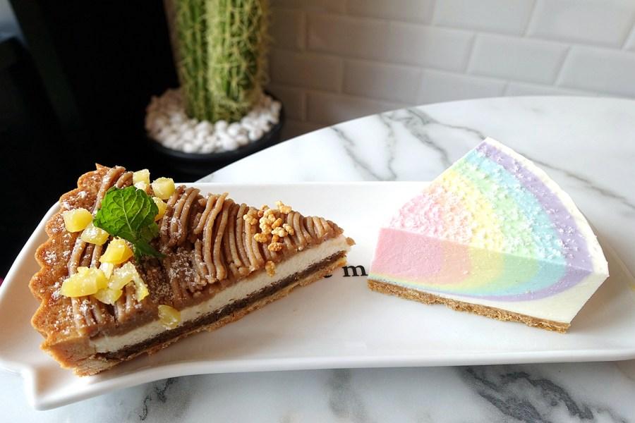 (關門大吉)[桃園.美食]Piepai Cafe'二店.桃園區新開餐廳~夢幻療癒的彩虹生乳酪.飲料類好喝又好拍 @VIVIYU小世界