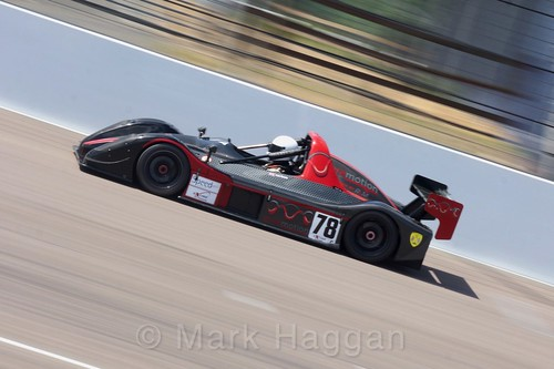 Lee Torrie in the Excool BRSCC OSS Championship at Rockingham, June 2017