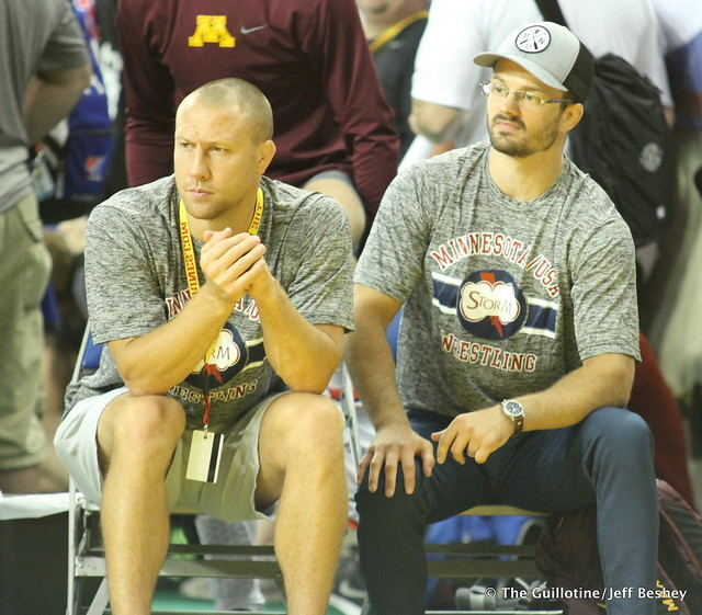 Coaches Jared Lawrence and Jayson Ness - 170716AJF0058