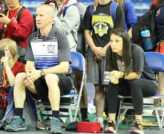 Coaches Chad Shilson and Kelli Rasmussen 170718AJF0030