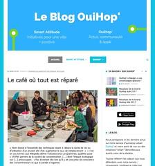 Snapshot Repair Café : faire réparer son objet cassé gratuitement - Smart attitude f28ng