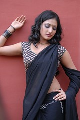 ACAM Movie Actress Haripriya Hot Saree Photos