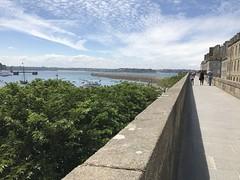 Saint Malo - Les remparts