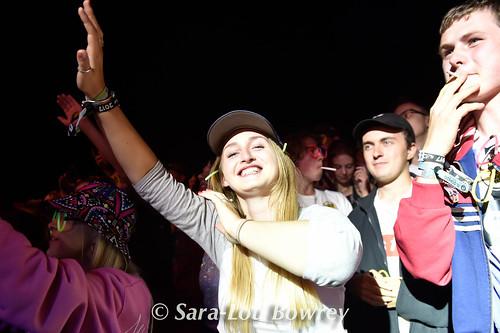 Crowds for Sugarhill Gang At Nozstock 2017