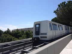 Tram at the Getty Center