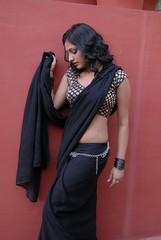 Actress Haripriya Saree Hot Photos in ACAM Telugu Movie