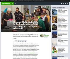 Snapshot Llegan a Chile los Repair Café, donde te enseñan a reparar gratis cualquier artefacto - VeoVerde bkac8