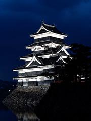 Château de Matsumoto (nuit)