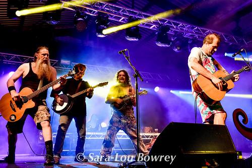 Hayseed Dixie at Nozstock 2017