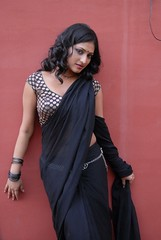 ACAM Telugu Movie Heroine Haripriya Saree Hot Photos