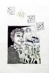 Marianna Antonacci, QUANDO LO SPECCHIO DICE COSE MOLTO AVVILENTI, Acquaforte, Acquatinta, 2017
