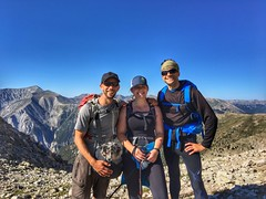 Ran into some old students (Sam Hagopian and Jodie Daglish) on the hike :)
