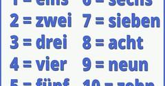 """Könnt Ihr auf Deutsch bis zehn zählen? Probiert es aus! #learnGerman #vocab #vokabeln #lernedeutsch #wortdestages #Zahlen #zählen #numbers • <a style=""""font-size:0.8em;"""" href=""""http://www.flickr.com/photos/42554185@N00/36902245396/"""" target=""""_blank"""">View on Flickr</a>"""