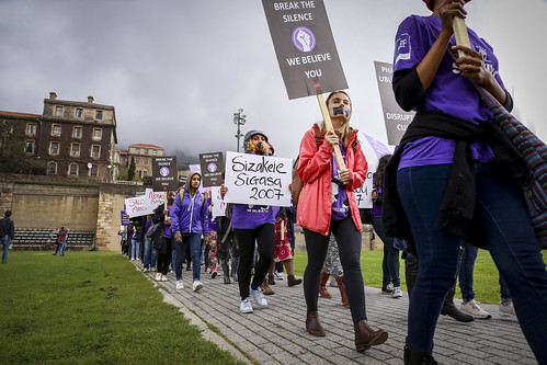 Silent Protest 2017: Cape Town, South Africa