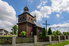 Wooden church in Obiechów