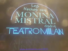 """LAS NOCHES CON MONINA MISTRAL • <a style=""""font-size:0.8em;"""" href=""""http://www.flickr.com/photos/126301548@N02/36269631453/"""" target=""""_blank"""">View on Flickr</a>"""
