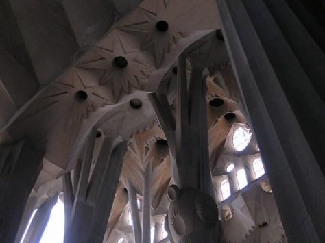 Barcelona Sagrada Familia nave3