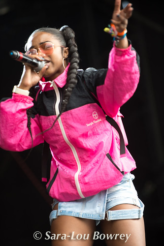 Nadia Rose at Bestival 2017
