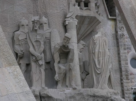 Barcelona Sagrada Familia s facade detail5
