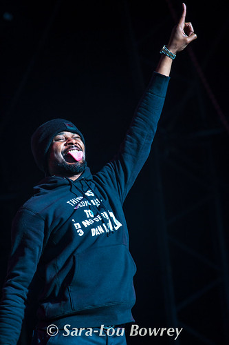 Danny Brown at Bestival 2017