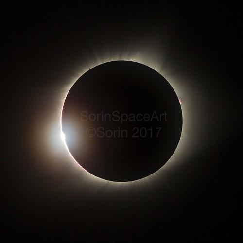 Total Solar Eclipse Diamond Ring 2017