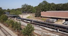 landscape w/ MARTA train