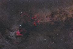 Cygnus region / constellation