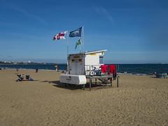 shore road beach in september