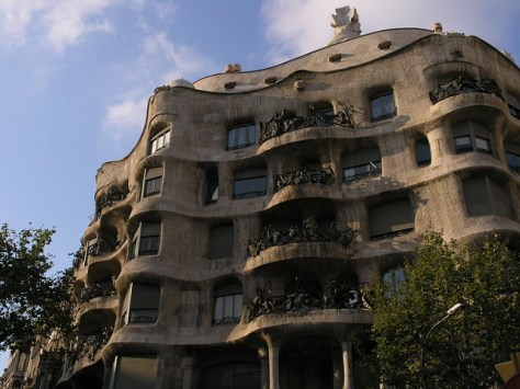 Barcelona Casa Milà outside
