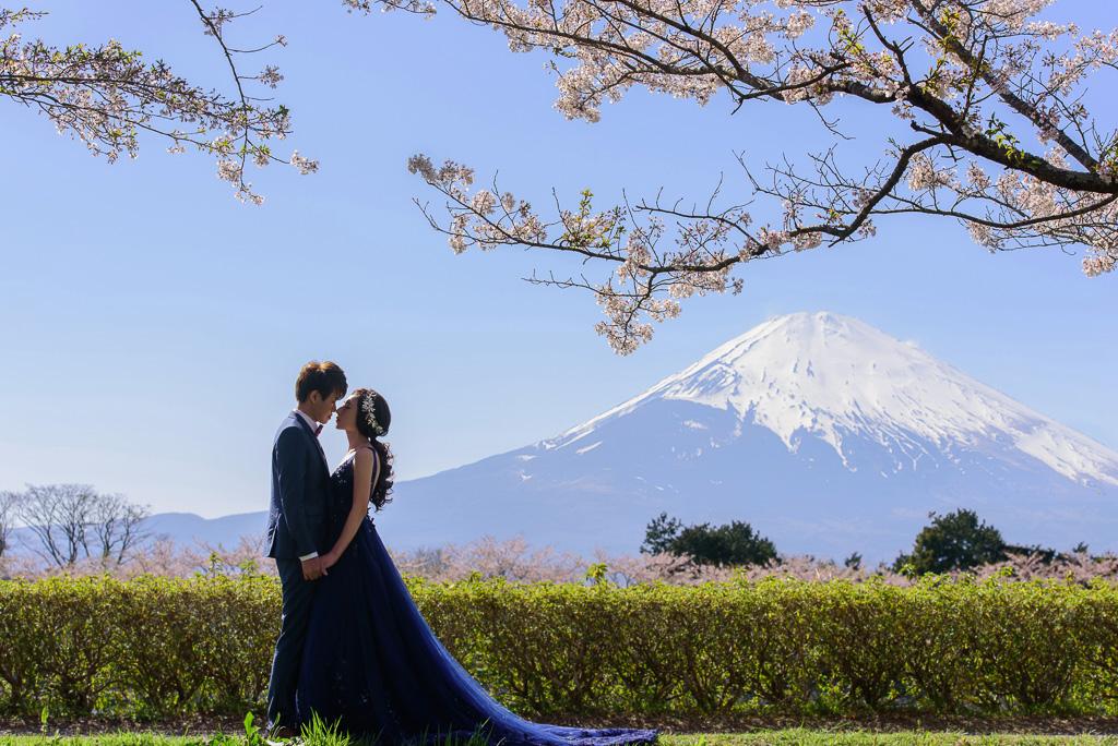 婚攝小勇,小寶團隊, Niniko, 自助婚紗, 海外婚紗,河口湖,櫻花,富士山-016