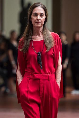 Suzana Kertzer, a modelo de 67 anos da Uma