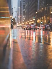 Night street — Chicago