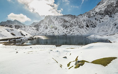 LLANBERIS, SNOWDONIA , in-Snow