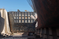 SS Jeremiah O'Brien goes to Dry Dock 10-2017