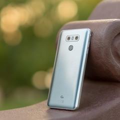 LG G6 H870 Ice Platinum | twin rear cams, flash & fingerprint scanner