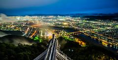 岐阜城 - 夜景