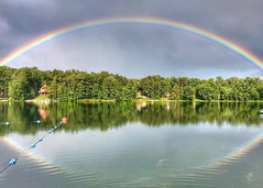 """Colleen Zawadzki - Rainbow at The Main-Tully Lake <a style=""""margin-left:10px; font-size:0.8em;"""" href=""""http://www.flickr.com/photos/9089158@N06/36680862324/"""" target=""""_blank"""">@flickr</a>"""