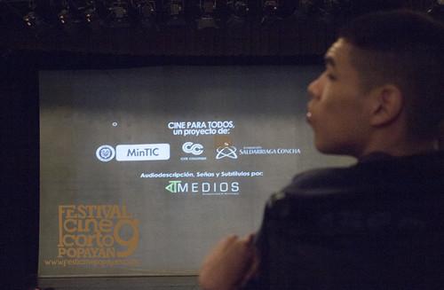 Cine para todos. Proyección Mateo (3)