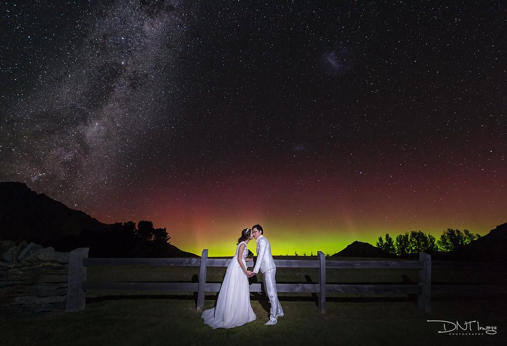 星空婚紗-紐西蘭婚紗-新西蘭婚紗