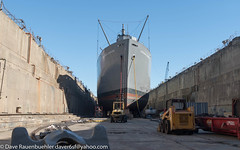 SS Jeremiah O'Brien go to Dry Dock 10-2017