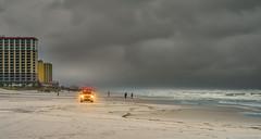 Beach Stormy Day