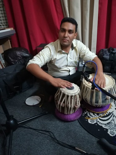 "Tabla Recording • <a style=""font-size:0.8em;"" href=""http://www.flickr.com/photos/28100669@N02/37778265716/"" target=""_blank"">View on Flickr</a>"