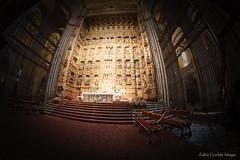 El retablo.