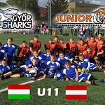 U11 vs. Györ Sharks 7. Okt. 2017